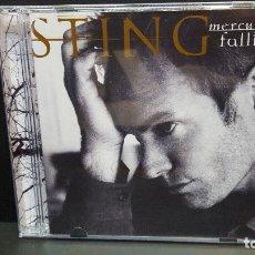 CDs de Música: STING MERCURY FALLING CD - AM 1996 EU PDELUXE. Lote 277298078