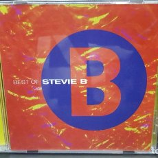 CDs de Música: STEVIE B BEST OF STEVIE B CD - ATLANTIC 1998 USA PDELUXE. Lote 277298198