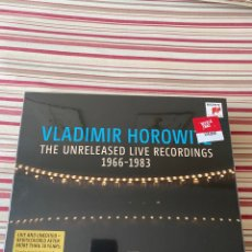 CDs de Música: VLADIMIR HOROWITZ: THE UNRELEASED LIVE RECORDINGS 1966-1983. Lote 277298243