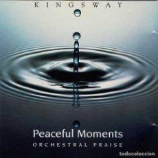 CDs de Música: ORCHESTRAL PRAISE - PEACEFUL MOMENTS. CD. Lote 277412128