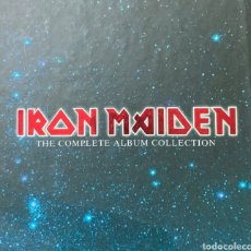 CDs de Música: IRON MAIDEN COLECCIÓN COMPLETA CD CÓMO NUEVO. Lote 277453948