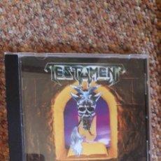 CDs de Música: TESTAMENT , THE LEGACY , CD , PERFECTO ESTADO , TRASH , SPEED METAL. Lote 277459188