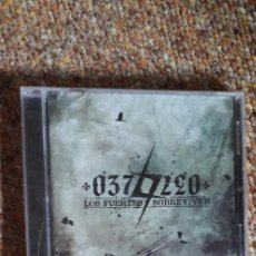 CDs de Música: 037 , LEO , LOS FUERTES SOBREVIVEN , CD 2011 , NUEVO PRECINTADO , HARD ROCK HEAVY NACIONAL. Lote 277461203