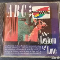 CDs de Música: CD - ABC - THE LEXICON OF LOVE. Lote 277503433