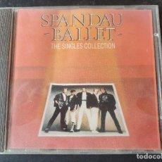 CDs de Música: SPANDAU BALLET. THE SINGLES COLLECTION. CHRYSALIS 1985. CD. Lote 277505393