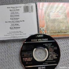 CDs de Música: AC DC / CD EDICIÓN AUSTRALIANA 1987 / HIGH VOLTAGE / MADE IN JAPAN / CDP 7466672 / ABIERTO SIN USO. Lote 277505918