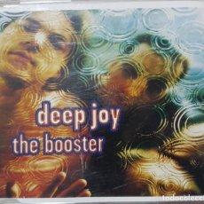 CDs de Música: DEEP JOY - THE BOOSTER - CD PROMOCIONAL - 1996 - POP ROCK. Lote 277510373