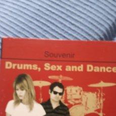 """CDs de Música: CD SOUVENIRS """" DRUMS,SEX AND DANCE """". Lote 277512538"""