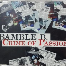 CDs de Música: BAMBLE B. - CRIME OF PASSION - MÚSICA DANCE ITALIANA - RARO CD PROMOCIONAL - VALE MUSIC 2000. Lote 277513528