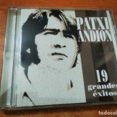 CDs de Música: PATXI ANDION 19 GRANDES EXITOS CD ALBUM DEL AÑO 2003 CONTIENE 19 TEMAS. Lote 277519808