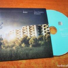 CDs de Música: BRETON OTHER PEOPLE'S PROBLEMS CD ALBUM PROMO CARTON DEL AÑO 2012 CONTIENE 11 TEMAS INDIE. Lote 277521523