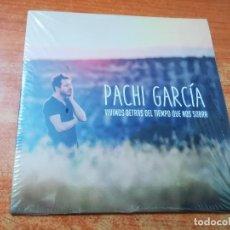 CDs de Música: PACHI GARCIA VIVIMOS DETRAS DEL TIEMPO QUE NOS SOBRA ALIS CD ALBUM PROMO PRECINTADO SUSO SAIZ INDIE. Lote 277525313