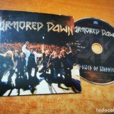 CDs de Música: ARMORED DAWN POWER OF WARRIOR CD MAXI SINGLE PROMO CARTON INDIE CONTIENE 4 TEMAS. Lote 277527553