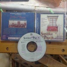 CDs de Música: CD SEMANA SANTA JEREZ CADIZ MARCHAS PROCESIONALES SONIDOS D PASION BANDA MUNICIPAL DEL AYUNTAMIENTO. Lote 277530583