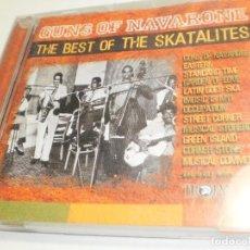 CDs de Música: CD THE BEST OF THE SKATALITES. GUNS OF NAVARONE. TROJAN RECORDS 2003 ENGLAND 25 TEMAS (BUEN ESTADO). Lote 277575148