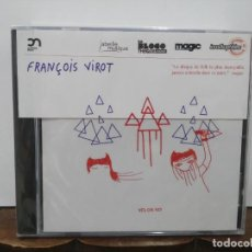 CDs de Música: FRANÇOIS VIROT - YES OR NO - CD. CLAPPING MUSIC. Lote 277592578