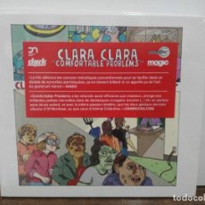 CDs de Música: CLARA CLARA - CONFORTABLE PROBLEMS - CD. CLAPPING MUSIC 2010. Lote 277593048