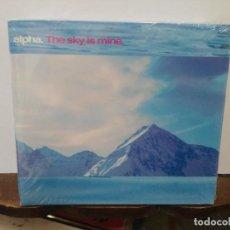 CDs de Música: ALPHA - THE SKY IS MINE - CD. GREEN UFOS 2008. Lote 277593273