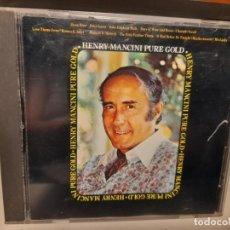CDs de Música: CD HENRY MANCINI : PURE GOLD ( MOON RIVER, LA PANTERA ROSA, HATARI, DIAS DE VINO Y ROSAS, ETC ). Lote 277593583
