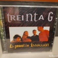 CDs de Música: CD TREINTA G : LA PEQUEÑA INVASION. Lote 277593743