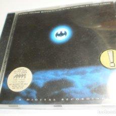 CDs de Música: CD BATMAN. MUSIC BY DANNY ELFMAN. WARNER 1989 GERMANY 21 TEMAS (SEMINUEVO). Lote 277625883
