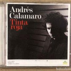"""CDs de Música: ANDRÉS CALAMARO """"TINTA ROJA"""" (GASA 2006). CD.. Lote 277639138"""