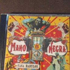"""CDs de Música: CD MANO NEGRA"""" CASA BABYLON """". Lote 277646728"""