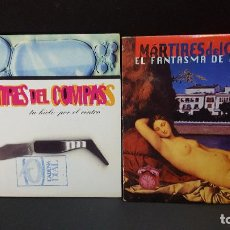 CDs de Música: MARTIRES DEL COMPAS 2 CD SINGLES TU HIELO POR EL CENTRO + EL FANTASMA DE LA RUMBA PEPETO. Lote 277648158