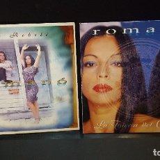 CDs de Música: ROMANO 2 CD SINGLE LATIERRA DEL OLVIDO + ME REBELE PEPETO. Lote 277649093