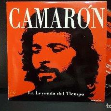 CDs de Música: CAMARON LA LEYENDA DEL TIEMPO CD SINGLE UNIVERSAL PROMO 2000 PEPETO. Lote 277649503