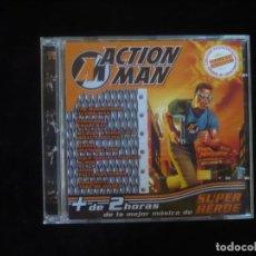 CDs de Música: ACTION MAN - EXCLUSIVO COLECCIONISTAS CONTIENE SALVAPANTALLA FONDOS DE ESCRITORIO - 2 CD COMO NUEVOS. Lote 277653663