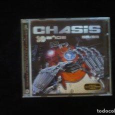 CDs de Música: CHASIS 10 AÑOS 89/99 - 2 CD CASI COMO NUEVOS. Lote 277653968