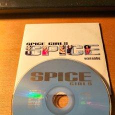 CDs de Música: RAR SINGLE CD. SPICE GIRLS. WANNABE. ED. CARTÓN. 2 TRACKS. Lote 277673383