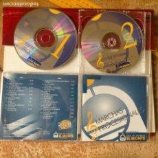 CDs de Música: CD SEMANA SANTA - DOBLE CD MARCHAS PROCESIONALES SEVILLA CORONACION MACARENA EL CACHORRO CRISTO. Lote 277688913
