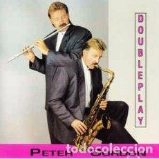 CDs de Música: PETER GORDON (10) - DOUBLE PLAY (CD, ALBUM) LABEL:POSITIVE MUSIC CAT#: PMD 78007. Lote 277708203