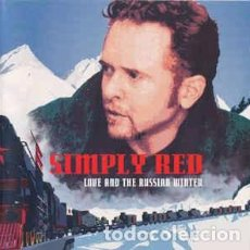 CDs de Música: SIMPLY RED - LOVE AND THE RUSSIAN WINTER (CD, ALBUM) LABEL:EASTWEST CAT#: 3984299422. Lote 277708628