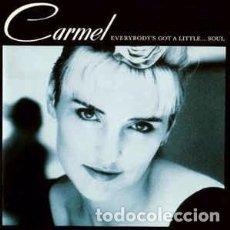 CDs de Música: CARMEL (2) - EVERYBODY'S GOT A LITTLE...SOUL (CD, ALBUM) LABEL:METRONOME CAT#: 828 067-2. Lote 277719233