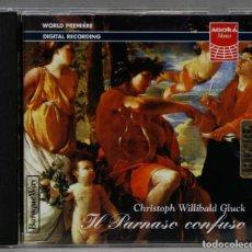 CD de Música: CD. IL PARNASO CONFUSO. WILLIBALD GLUCK. Lote 277721403