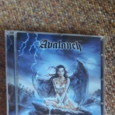 CDs de Música: AVALANCH , EL ANGEL CAIDO , CD 2001 , ESTADO IMPECABLE , HEAVY NACIONAL. Lote 277726718