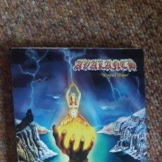 CDs de Música: AVALANCH , ETERNAL FLAME , CD DIGIPACK 1998 , DISCO ESTADO IMPECABLE, CARÁTULA BIEN , HEAVY NACIONA. Lote 277727278