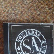 CDs de Música: SOZIEDAD ALKOHOLIKA , SIN TITULO , CD 1991 , LEVES SEÑALES DE USO, HEAVY NACIONAL. Lote 277730073