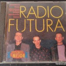 CDs de Música: RADIO FUTURA - SIMPLEMENTE LO MEJOR (CD DISKY 1996). Lote 277739598