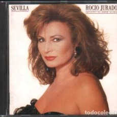 CDs de Música: ROCIO JURADO - SEVILLA ( INCLUYE EL AMOR ACABA) / CD ALBUM 1991 / MUY BUEN ESTADO RF-10357. Lote 277740443