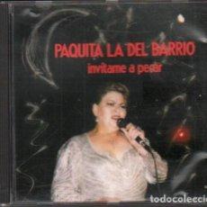 CDs de Música: PAQUITA LA DEL BARRIO - INVITAME A PECAR / CD ALBUM DE 1992 / MUY BUEN ESTADO RF-10358. Lote 277740488