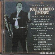 CDs de Musique: HOMENAJE A JOSE ALFREDO JIMENEZ - DUETOS CON JULIO IGLESIA, RODIO DURCAL.../ CD 1999 RF-10360. Lote 277740748
