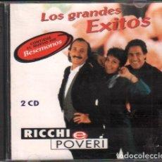CDs de Musique: RICCHI E POVERI - LOS GRANDES EXITOS / 2 CD ALBUM DE 1994 / MUY BUEN ESTADO RF-10363. Lote 277741003
