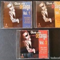 CDs de Música: QUE NO DECAIGA, LA MEJOR RECOPILACIÓN DE MÚSICA SOUL. 3 CD´S ORIGINALES.. Lote 277745293