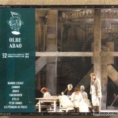 CDs de Musique: OLBE ABAO (52º TEMPORADA DE ÓPERA 2003/04). MANON LESCAUT, CARMEN, JENUFA, I MASNADERI, OTELLO,…. Lote 277747468