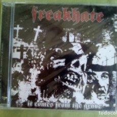 CDs de Música: CD FREAKHATE. IT COMES FROM THE GRAVE. NUEVO Y PRECINTADO.. Lote 277752358