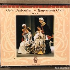 CDs de Musique: OLBE ABAO (45° TEMPORADA DE ÓPERA 1996/97). FIDELIO, ERNSNI, SUOR ANGELICA, CAVALLERIA RUSTICANA,…. Lote 277754123